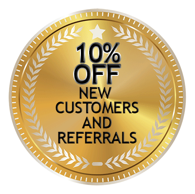 10 PERCENT NEW CUSTOMERS